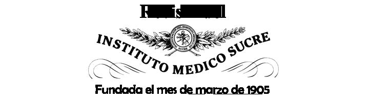 Revista del Instituto Médico Sucre